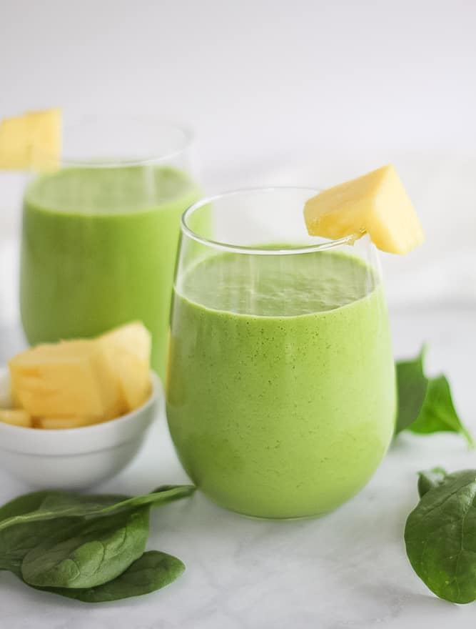 Pinapple-Green-Smoothie